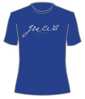 Damen T-Shirt | grace [Schreibschrift]  S-XXL