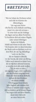 Lesezeichen - Psalm 91