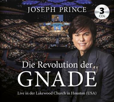 Joseph Prince | Die Revolution der Gnade (3 Predigten) CD
