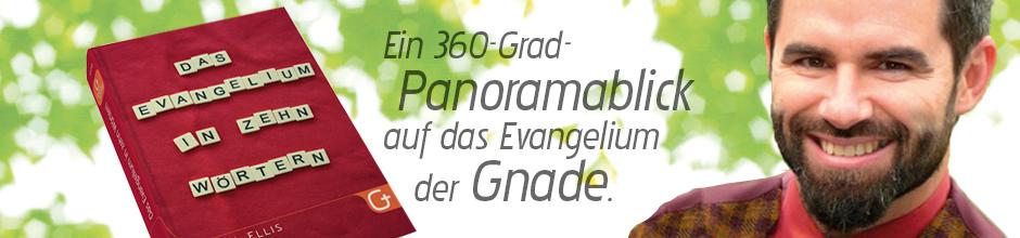 Banner 14 Das Evanglium in zehn W�rtern