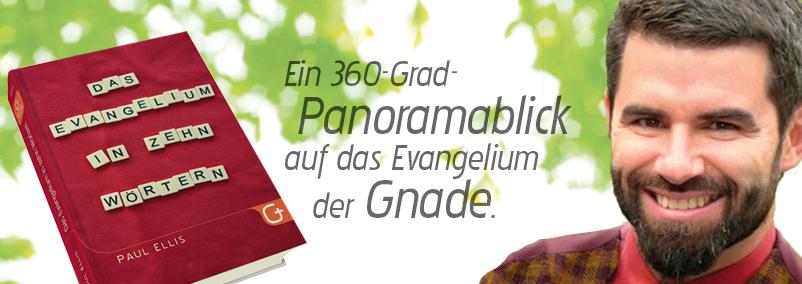 Banner 14 Das Evanglium in zehn Wörtern